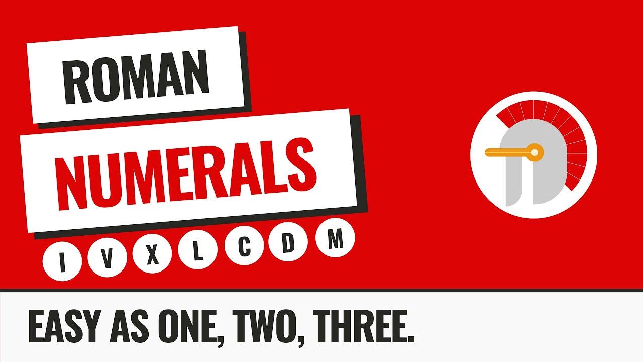 Roman Numerals Lessons Tes Teach