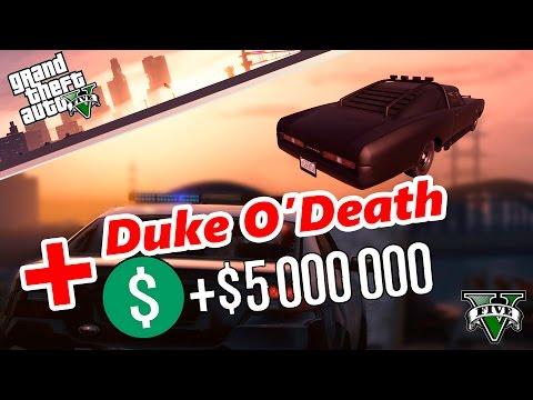 GTA 5 Online - ХАЛЯВА DUKE + 500 000 $ GTA