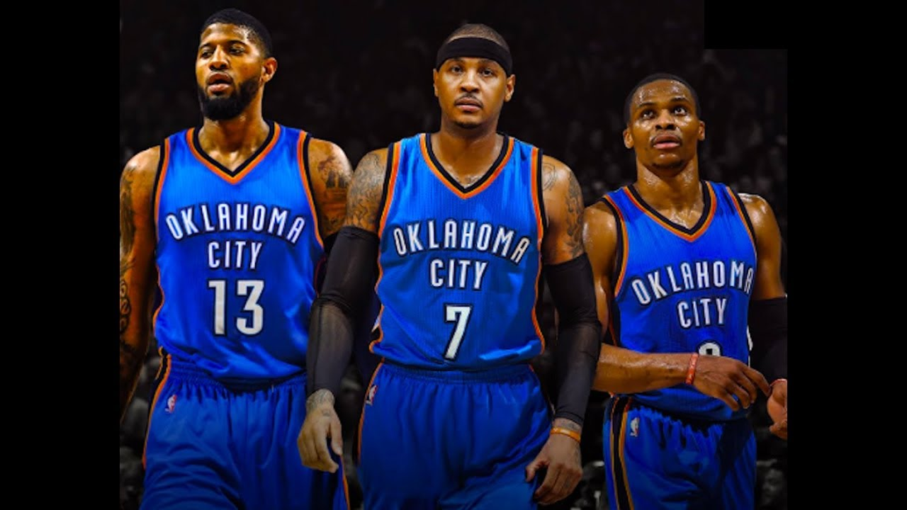 check out 498f8 85bfd Knicks Trade Carmelo Anthony to OKC Thunder for Enes Kanter, Doug McDermott  & 2018 2nd-Rd Pick!