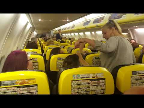 Ryanair flight to Alicante caused to turn back to Bristol as someone's clearly got issues