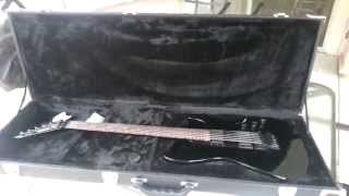 Unpacking ESP LTD M and MH Style Electric Guitar Case