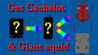Deeeep.io How to get the Cachalot and Giant squid