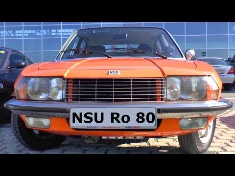 Klassiker NSU Ro 80 - classic car - Höhepunkt und Untergang der NSU Motorenwerke