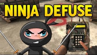 CS:GO Edit to PIKA- Ninja Defuse!