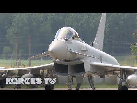 The RAF Typhoon Crews On NATO