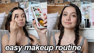 Chit Chat GRWM summer makeup routine 2021!