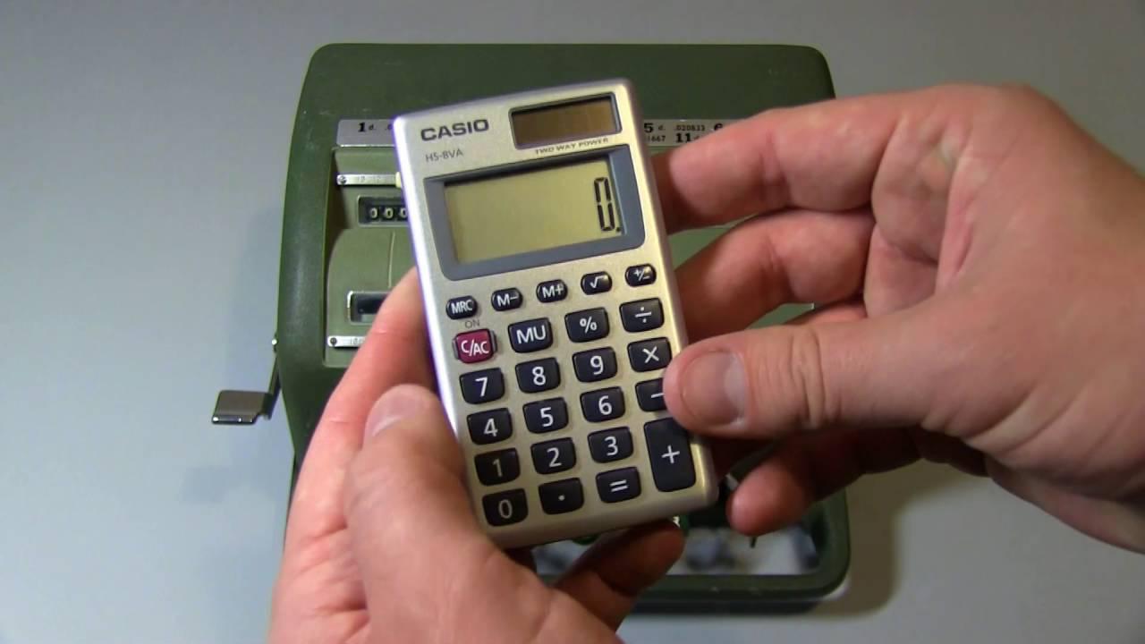Inside Mechanical Calculators | Hackaday