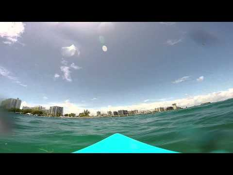 GoPro Test Drive - Condado Lagoon, San Juan, PR