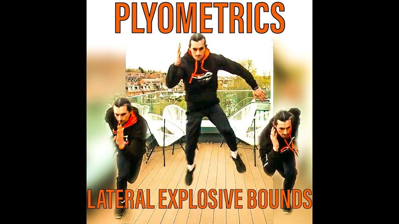 Plyometrics - Lateral Explosive Bounds
