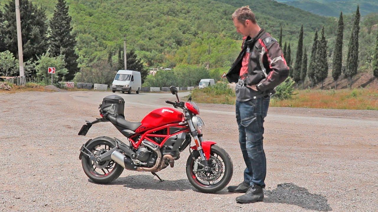 Ducati 797 Monster. Взял подмышку и пошёл.