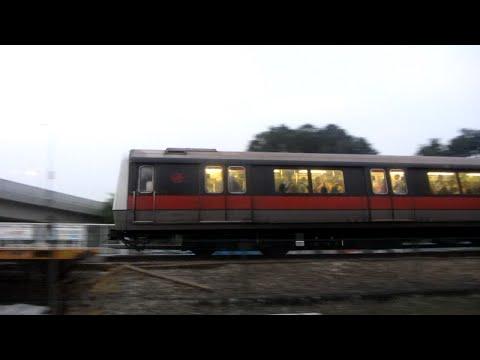 SMRT North South Line - Evening Peak Action (18/09/14)