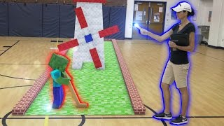 Monster School in Real Life Episode 9: Mini Golf - Minecraft Animation