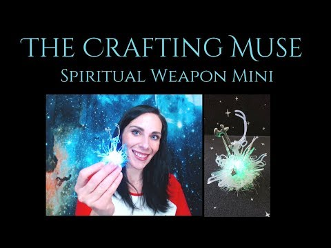 Making a Spiritual Weapon Mini for Your DnD and TTRPG Needs