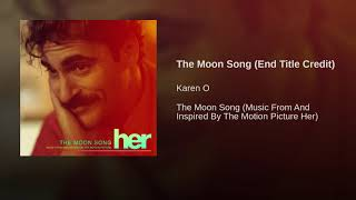 The Moon Song (End Title Credit)