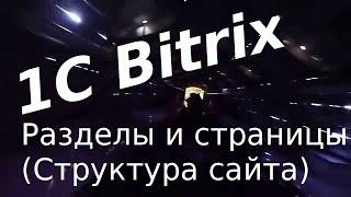 1C-Bitrix. Редактирование материалов. Работа с разделами и страницами