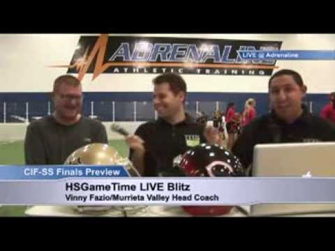 FOOTBALL: Bakersfield Drillers on the HSGameTime LIVE Blitz