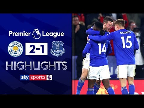 Iheanacho scores last-minute winner! | Leicester 2-1 Everton | Premier League Highlights