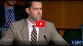 SENATOR TOM COTTON EXPOSES HILLARY CLINTON AS A