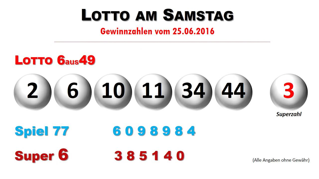 Lottozahln