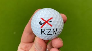 NIKE GOLF BALLS ARE BACK | WITHOUT the Swoosh
