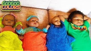 ARE YOU SLEEPING? Goo Goo Gaga Pretend Play with Dolls