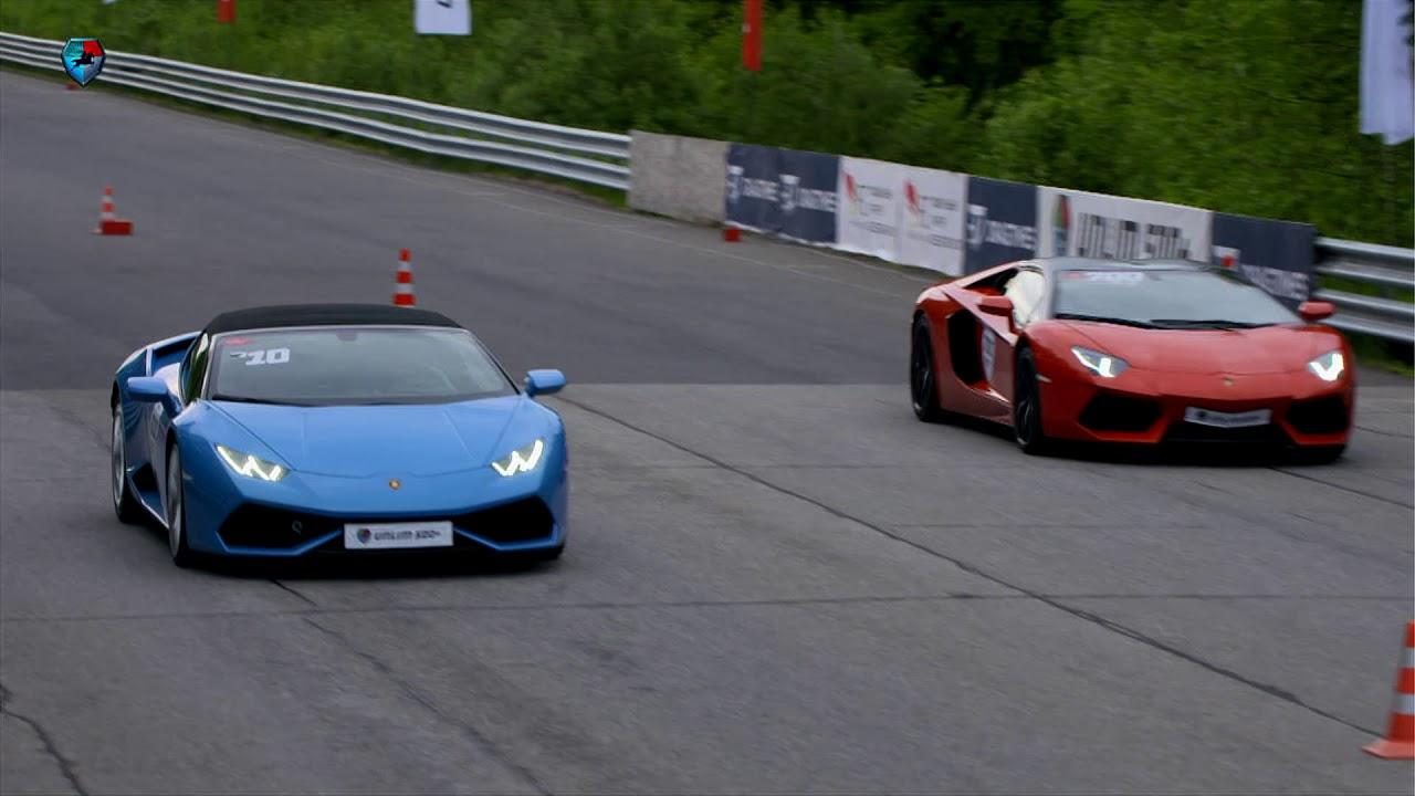 Lamborghini Aventador Spyder >> Lamborghini Aventador Roadster Vs Huracan Spyder Youtube
