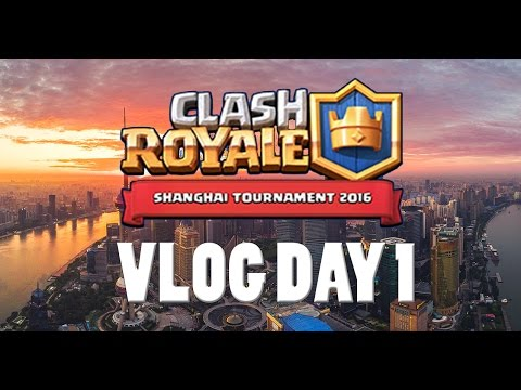 Hotel Room Tour & Shanghai Clash Royale Tournament Hype | China To Korea Supercell Trip Vlog Day 1
