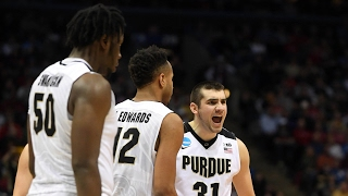 First Round: Purdue edges past Vermont