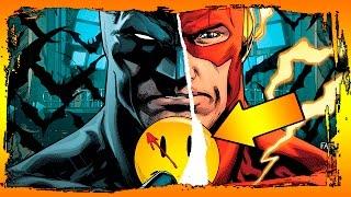 """КТО УБИЛ ОБРАТНОГО ФЛЭША? - """"Значок Комедианта"""" часть 1 [Batman #21]"""