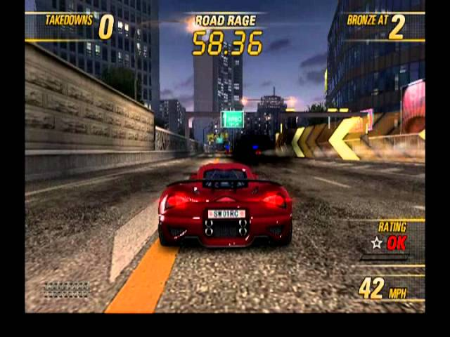 Burnout Revenge - Gameplay [PS2][HQ]