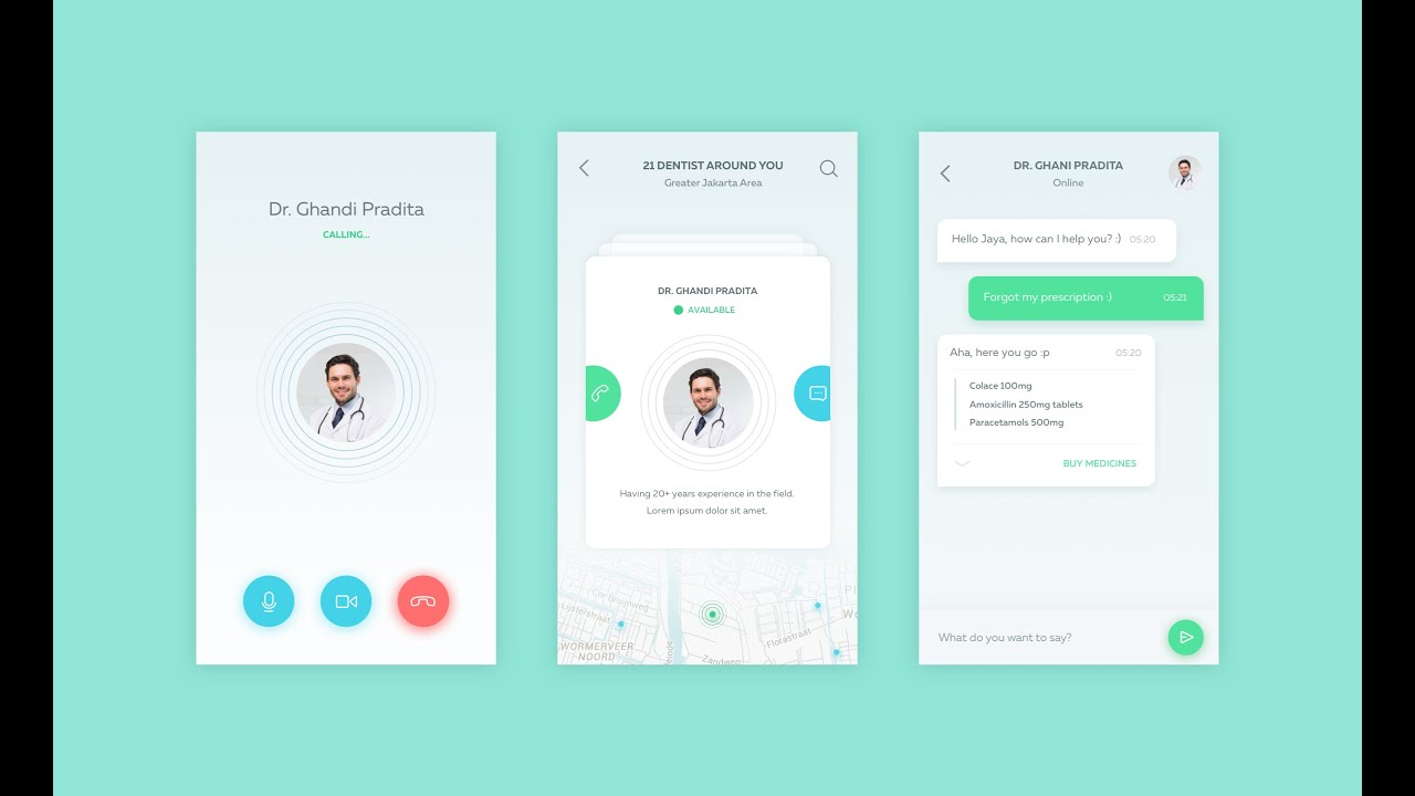 How to design android app medical android app design How design com
