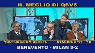 QSVS - I GOL DI BENEVENTO-MILAN 2-2   - TELELOMBARDIA / TOP CALCIO 24