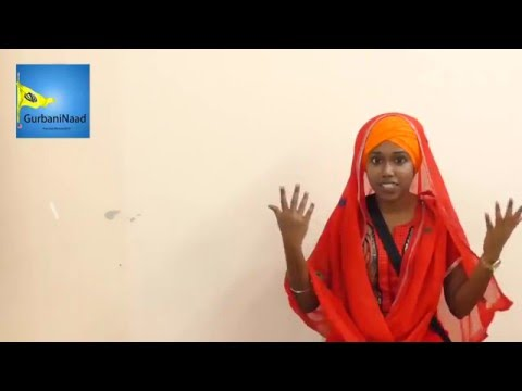 Tamil Sikh Girl Shares about Sikhi