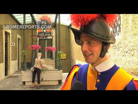 Meet one of the new Swiss Guards!