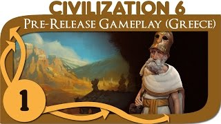 civilization 6 let s play greece pericles ep 1 civ 6 gameplay