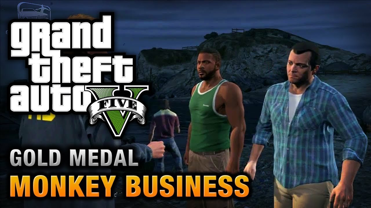 Grand Theft Auto V MONKEY BUSINESS MISSION PASSED 2020