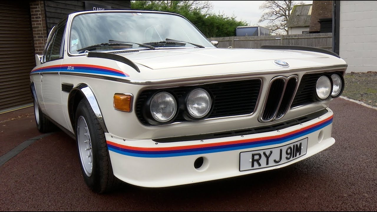 Bmw 3 0 Csl Batmobile The Perfect Company Car Youtube