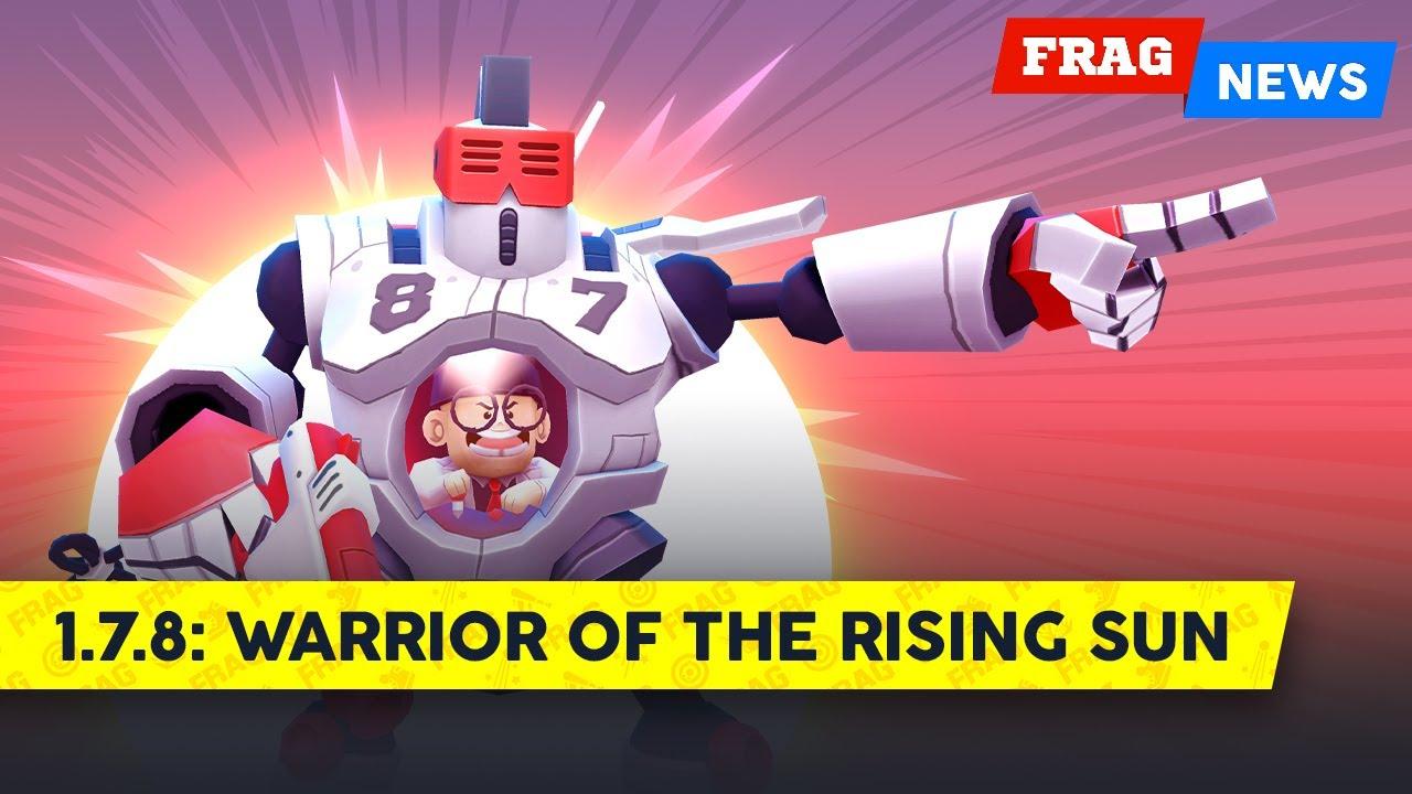 FRAG News 1.7.8 | Warrior of the Rising Sun