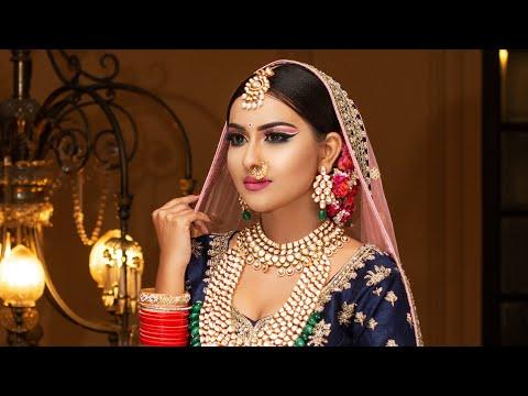 Sabya bridal makeup by Anurag make-up mantra