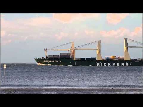 RICKMERS TOKYO - Elbe höhe Otterndorf