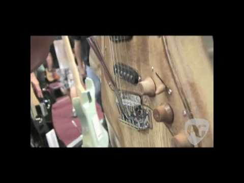 Summer NAMM '09 - AXL Guitars Badwater Series Guitars