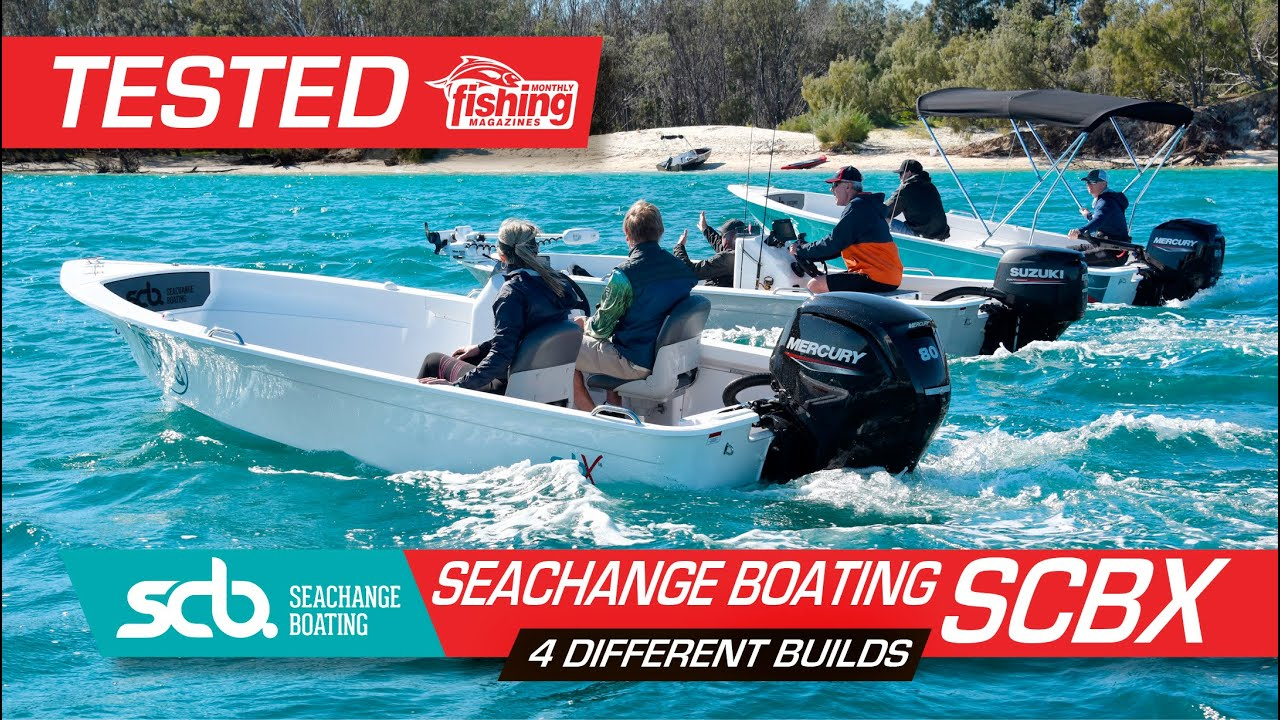 Tested | Seachange Boating SCBX - 4 different builds
