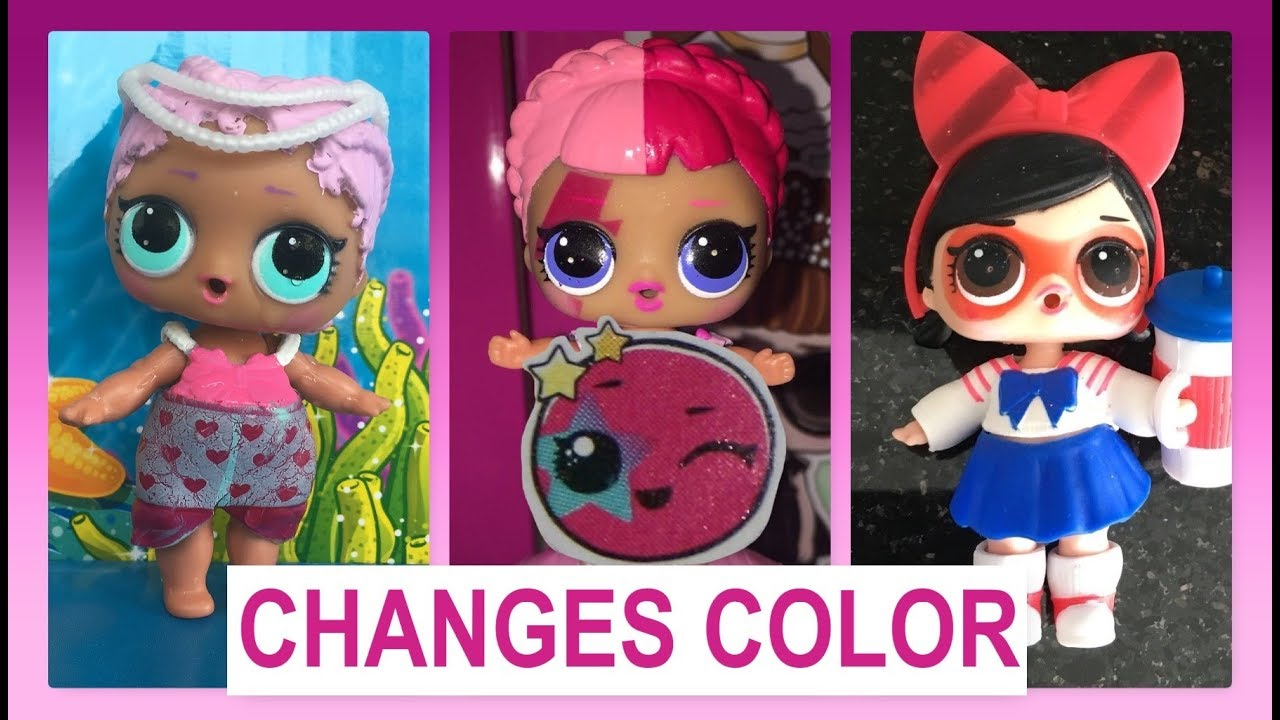 Which Lol Dolls Change Color