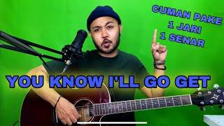 Download lagu Tutorial Melodi (You Know I'll Go Get) cuman pake 1 JARI 1 SENAR (Gitar)