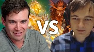 (Hearthstone) Kibler VS Kolento: Kazakus Priest vs Jade Druid