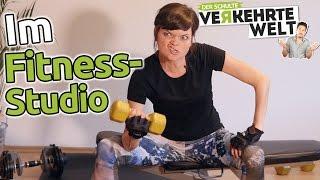 Verkehrte Welt - Im Fitness-Studio
