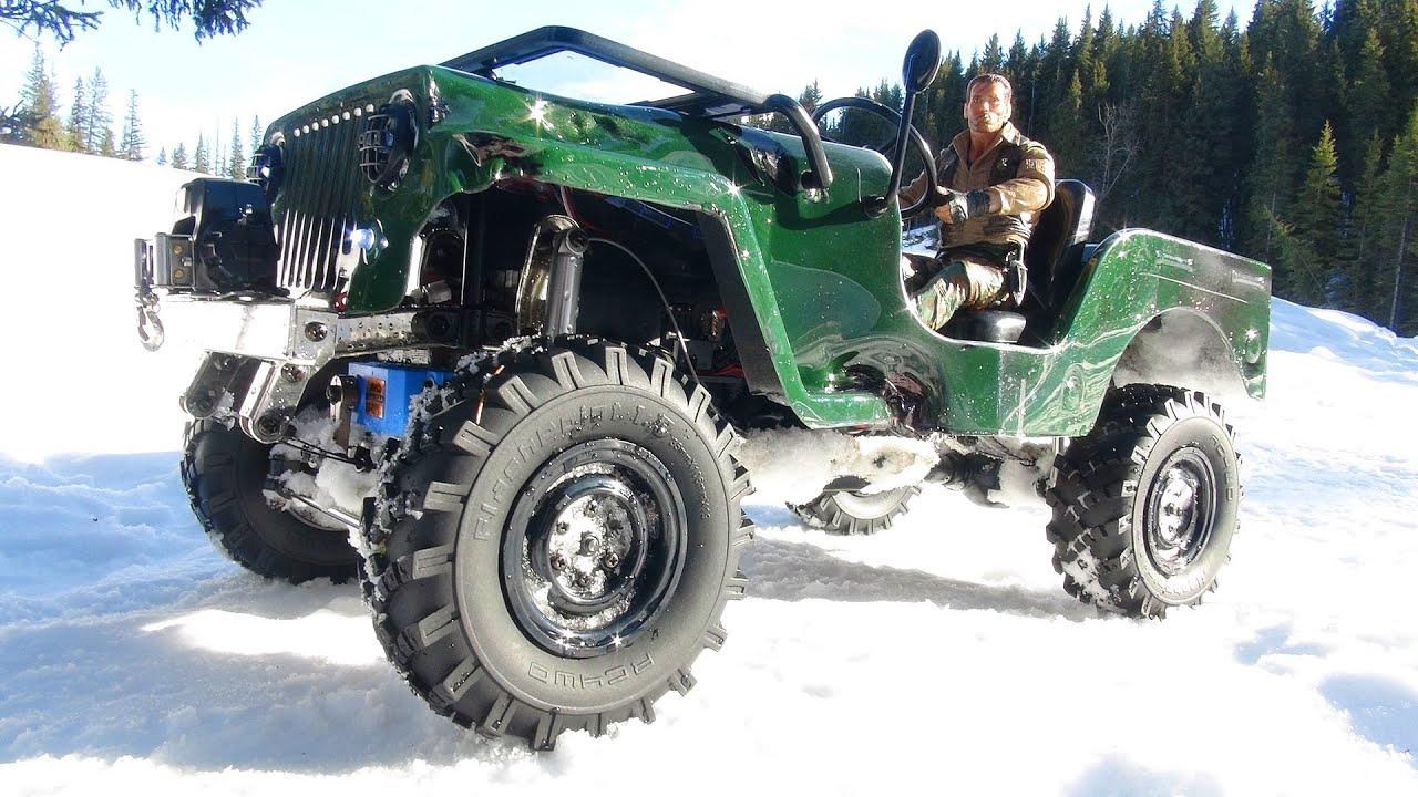 Rc Adventures Sawback 4x4 Jeep W Rc4wd Warn Winch Youtube