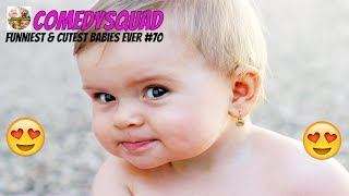 Funniest & Cutest Babies Ever #70-Try Not To Laugh Challeng