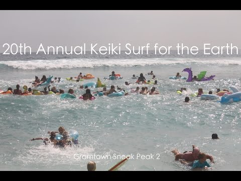 Keiki Surf for the Earth 2015-Gromtown Sneak Peak 2