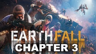 Earthfall - Solo Walkthrough Gameplay Campaign 1  Chapter 3 Data Recovery Missio